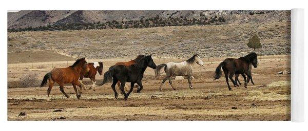 Virginia Range Mustangs Yoga Mat
