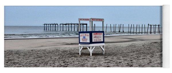 59th Street Pier In Ocean City Yoga Mat