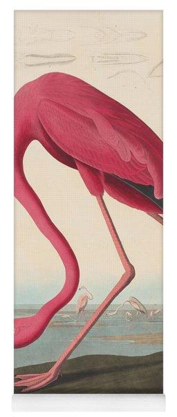 American Flamingo Yoga Mat