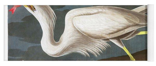 Great White Heron Yoga Mat