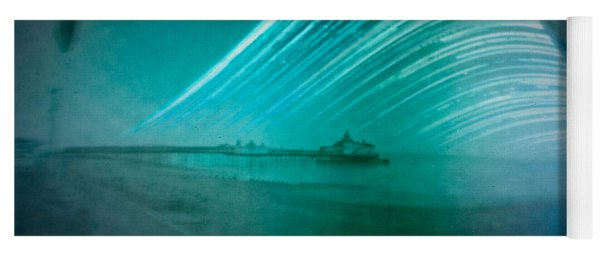 6 Month Exposure Of Eastbourne Pier Yoga Mat