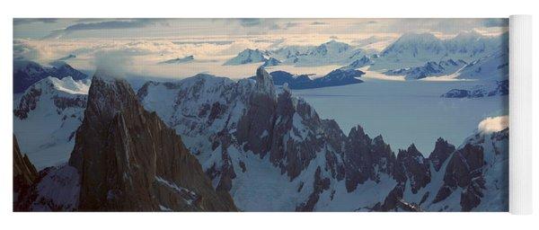 Panoramic Aerial View At 3400 Meters Yoga Mat