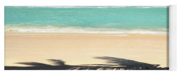 Tropical Beach Yoga Mat