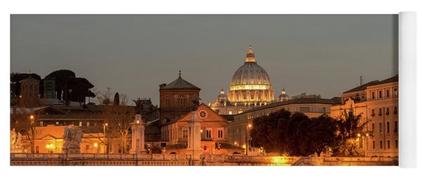 Vatican City Yoga Mat