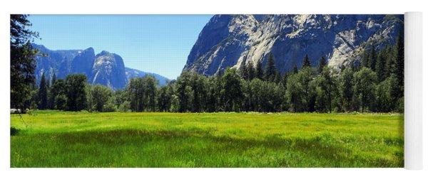 Yosemite Meadow Photograph Yoga Mat
