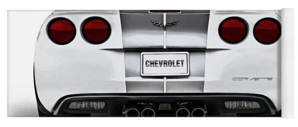 60th Anniversary Corvette Yoga Mat