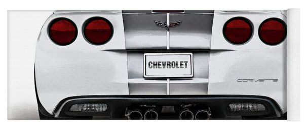 60th Anniversary Corvette Yoga Mat