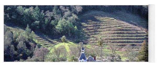 6b6312 Falcon Crest Winery Grounds Yoga Mat