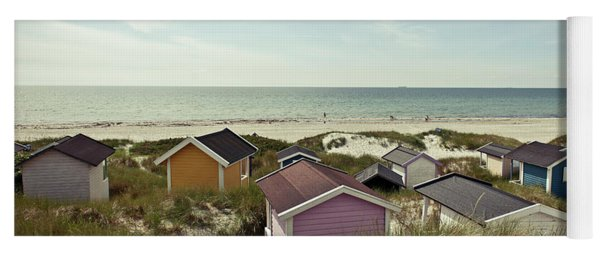 Beach Houses And Dunes Yoga Mat