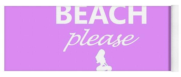 Beach Please Yoga Mat