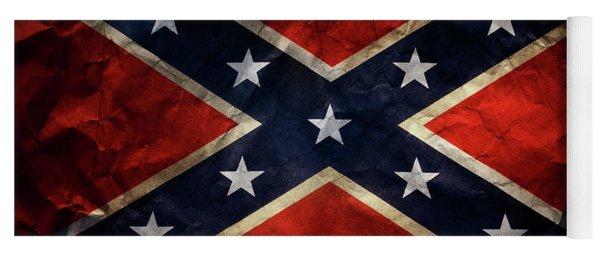 Confederate Flag 9 Yoga Mat