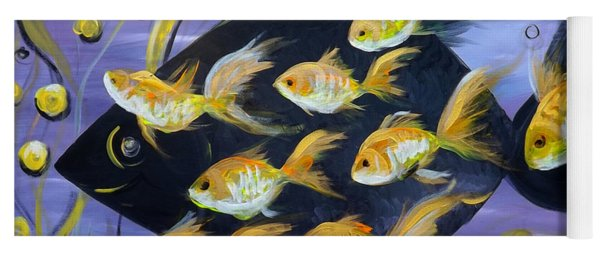 8 Gold Fish Yoga Mat