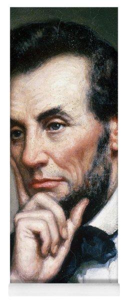 Abraham Lincoln 16th American President Yoga Mat