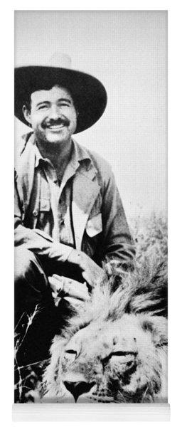 Ernest Hemingway Yoga Mat