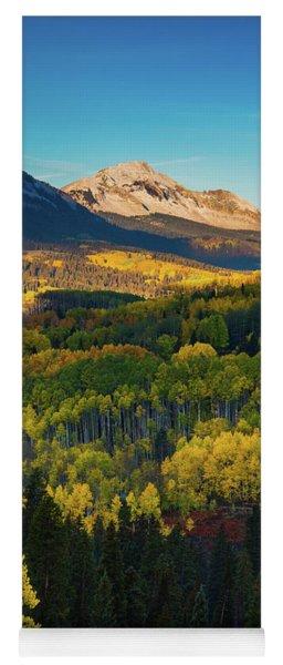 A Autumn Morning In Colorado Yoga Mat