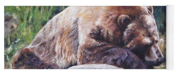 A Bear Of A Prayer Yoga Mat