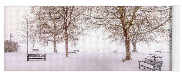 A Beautiful Winter's Morning  Yoga Mat