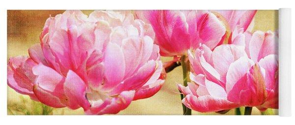 A Bouquet Of Tulips Yoga Mat