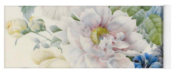 A Bunch Of Flowers Yoga Mat