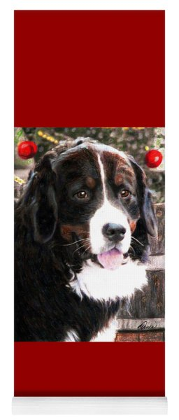 A Burmese Mountain Dog Christmas  Yoga Mat
