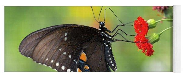 A Butterfly  Yoga Mat