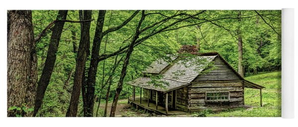 A Cabin In The Woods Yoga Mat