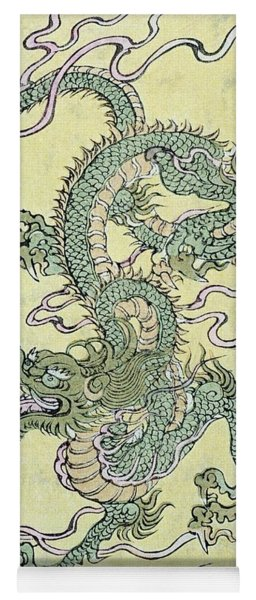 A Chinese Dragon Yoga Mat