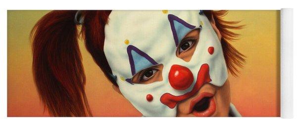 A Clown In My Backyard Yoga Mat