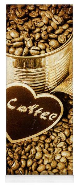A Coffeehouse Romance Yoga Mat