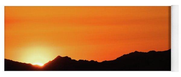 A Colorado Sunset Yoga Mat