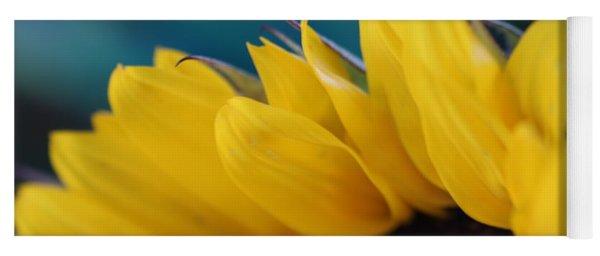A Cool Sunflower Yoga Mat