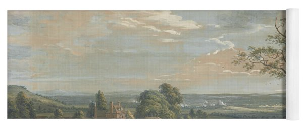 A Distant View Of Maidstone, From Lower Bell Inn, Boxley Hill Yoga Mat