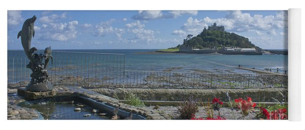 A Dolphins View Of St Michael's Mount Yoga Mat