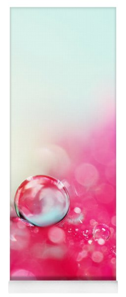 A Drop With Raspberrys And Cream Yoga Mat