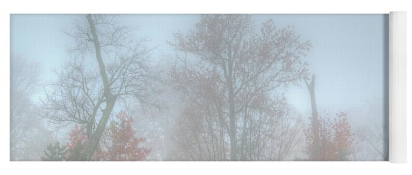 A Foggy Morning Yoga Mat