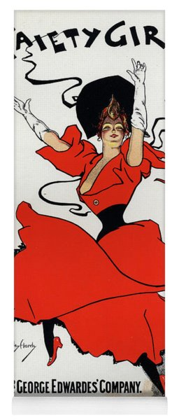 A Gaiety Girl  Vintage Poster Yoga Mat