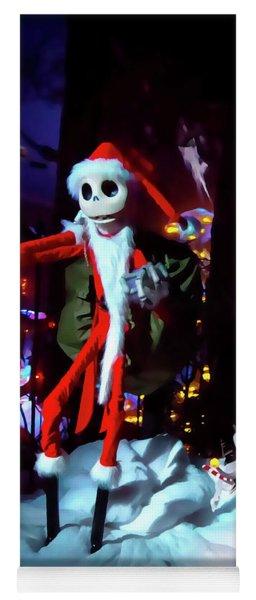 A Haunted Christmas Yoga Mat