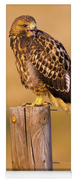 A Hawk's Cry Yoga Mat