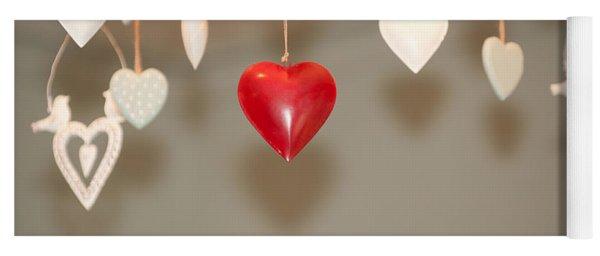 A Heart Among Hearts I Yoga Mat