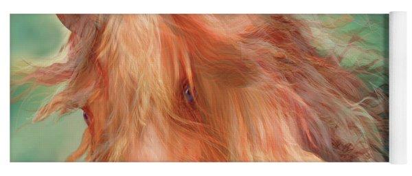 A Horse Called Copper Yoga Mat