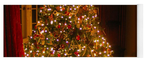 A Jewel Of A Christmas Tree Yoga Mat