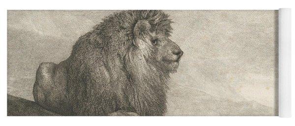 A Lion  Yoga Mat
