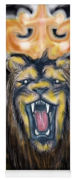 A Lion's Royalty Yoga Mat