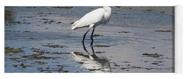 A Little Egret Yoga Mat