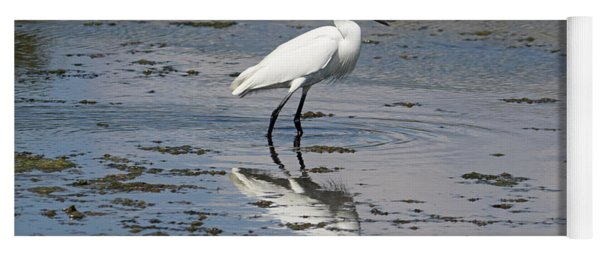 A Little Egret Yoga Mat