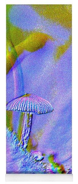 A Little Mushroom  Yoga Mat