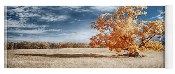 A Lone Tree Yoga Mat