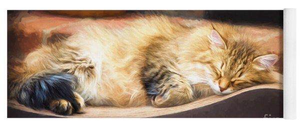 A Long Winter's Nap Yoga Mat