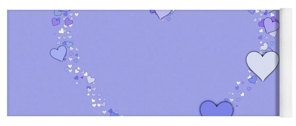 A Love Wish For You  Yoga Mat