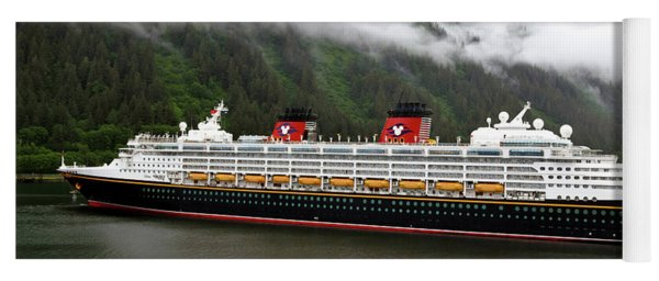 A Mickey Mouse Cruise Ship Yoga Mat